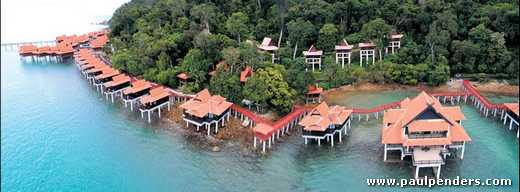 Berjaya Langkawi Beach and Spa Resort viewed from the seaside