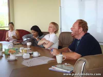 Mrs. Rulli, Bawani, Angelika & Paul Penders