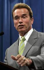 Back in 2007 California's Governor Arnold Schwarzenegger banned products containing more than a trace amount of phatalates