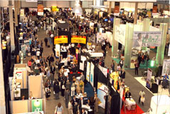 The tradeshow was well visited