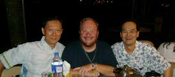 Euro-Ventures partners Lim and Calvin with Paul
